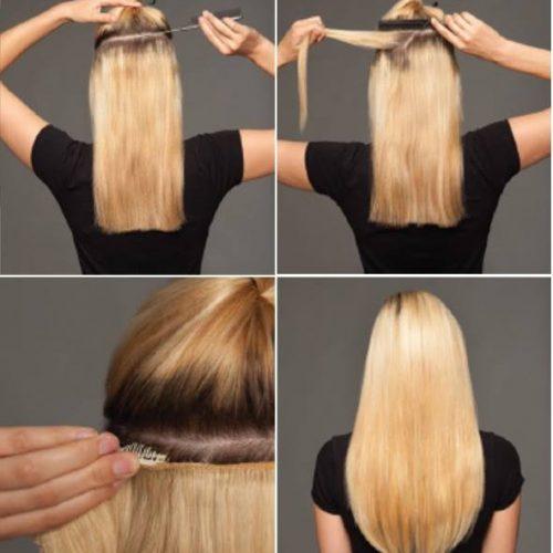 KOKO – rovné vlasy Thermofibre™ Clip In svazek
