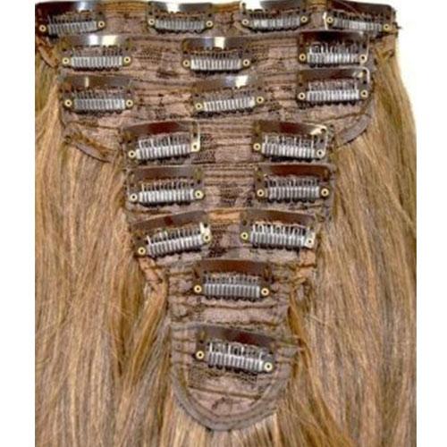 8 kusů vlasů z Thermofibru™ Clip In Set