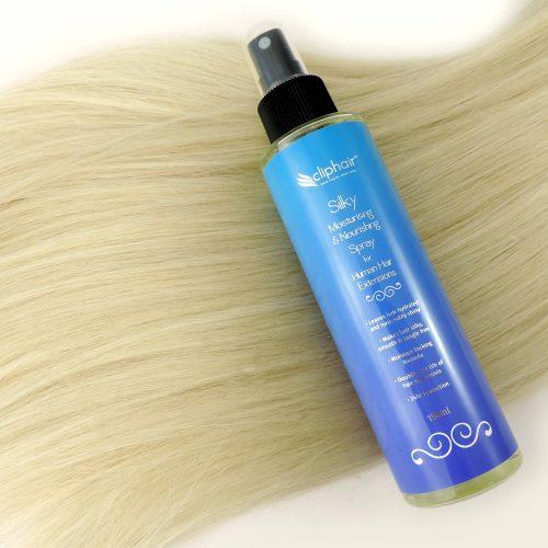 Hydratační a vyživující vlasový sprej na příčesky