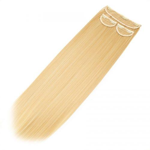 Clip in 3 dílná sada ENVY- 200g – 60cm #F12 Smíšená blond
