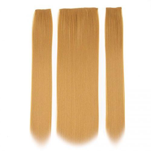 Clip in 3 dílná sada ENVY- 200g – 60cm #F14 Bronze blond