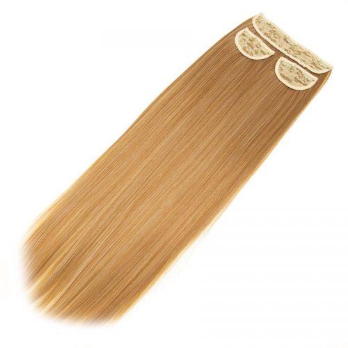 Clip in 3 dílná sada ENVY- 200g – 60cm #F16 Smíšená blond