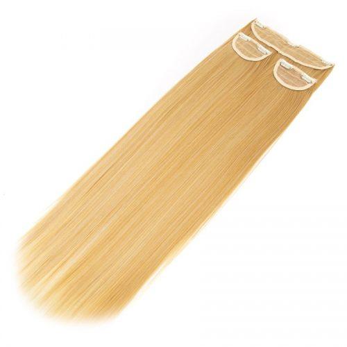 Clip in 3 dílná sada ENVY- 200g – 60cm #F17 Smíšená blond ombre