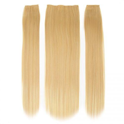 Clip in 3 dílná sada ENVY- 200g – 60cm #F23 Ombre čistá blond