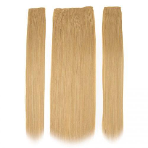 Clip in 3 dílná sada ENVY- 200g – 60cm #F27 Zlato blond
