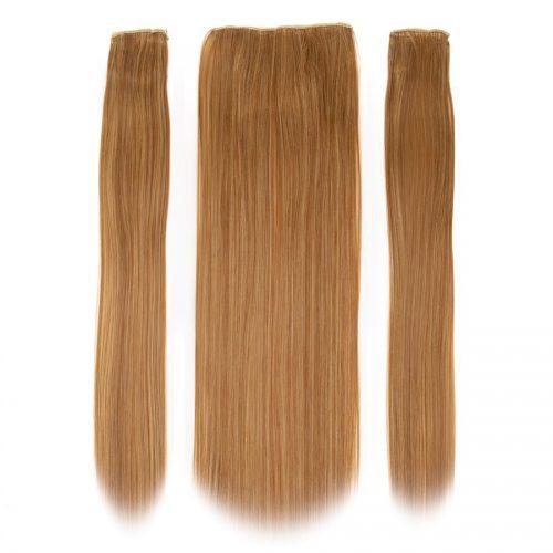 Clip in 3 dílná sada ENVY- 200g – 60cm #F37 Kaštanová blond směs
