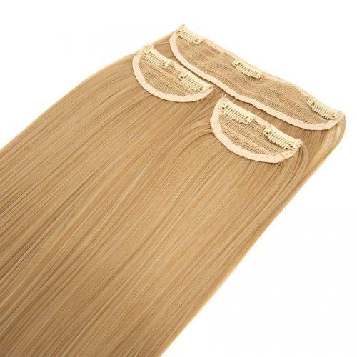 Clip in 3 dílná sada ENVY- 200g – 60cm #F7 Cappuccino blond